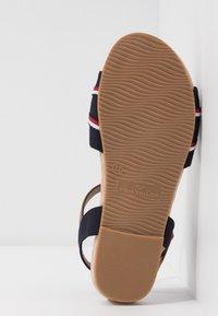 TOM TAILOR - Sandals - navy - 6
