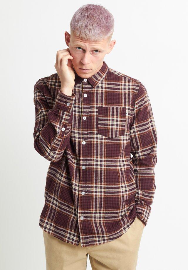 BRAS - Overhemd - burgundy