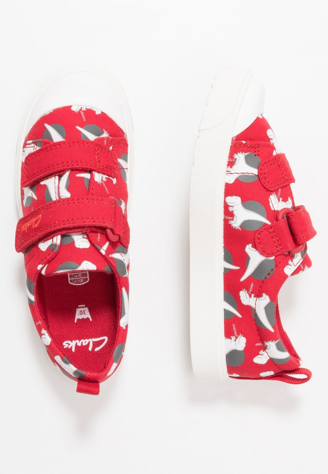CITY BRIGHT - Trainers - red interest