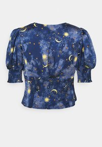 Never Fully Dressed Petite - MOON STARS SHORTSLEEVE LINDOS - Blouse - navy/multi