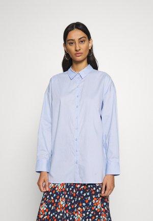 IBBY OVERSIZES - Button-down blouse - xenon blue