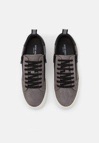 Antony Morato - ZIPPER LACE UP PLATFORM SOLE - Zapatillas - london grey - 3