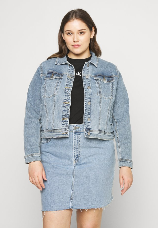 VIVA JACKET - Jeansjakke - light-blue denim