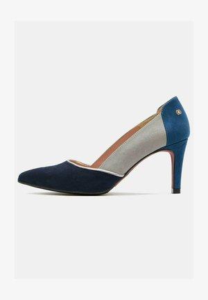 Classic heels - navy blue