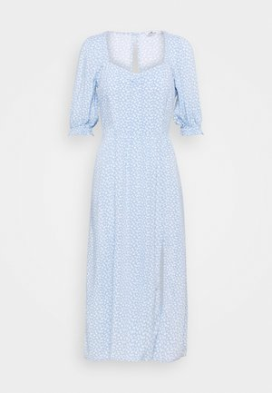 TREND MIDI DRESS  - Day dress - blue