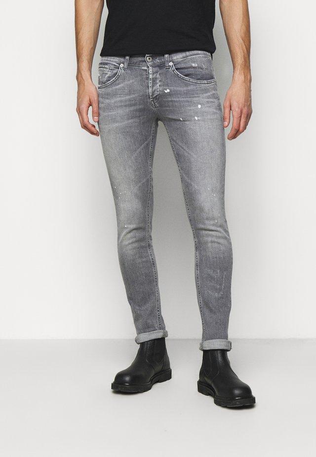 PANTALONE GEORGE - Slim fit jeans - grey denim