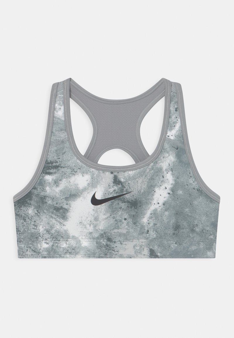 Nike Performance - Soutien-gorge de sport - smoke grey/coconut milk