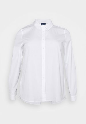 BIANCA - Button-down blouse - optic white