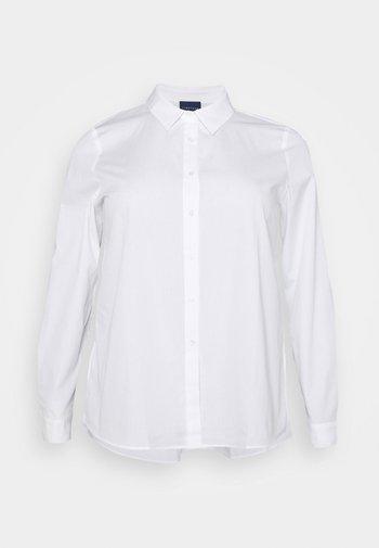 BIANCA - Button-down blouse - optic white