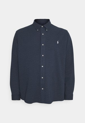 Shirt - dark blue/white