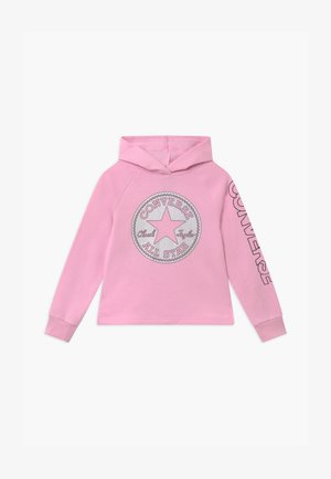 FAUX SEQUIN HOODIE - Mikina s kapucí - pink glaze
