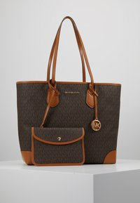 MICHAEL Michael Kors - EVA TOTE - Bolso shopping - brown - 0