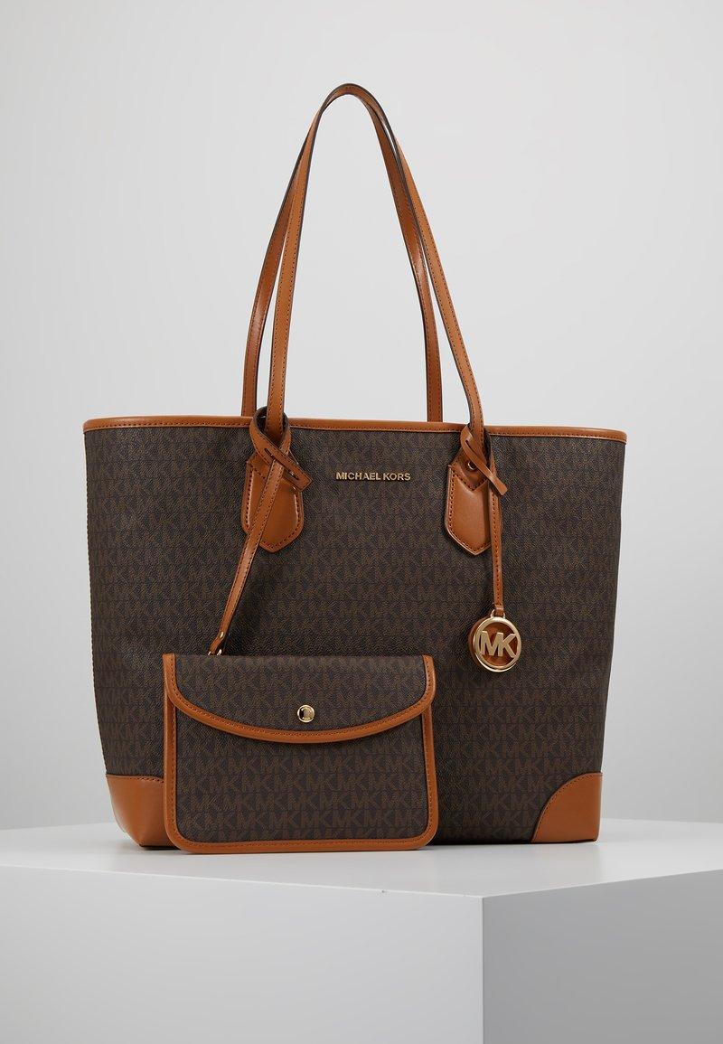 MICHAEL Michael Kors - EVA TOTE - Bolso shopping - brown