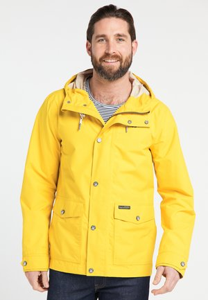 Waterproof jacket - mustard yellow