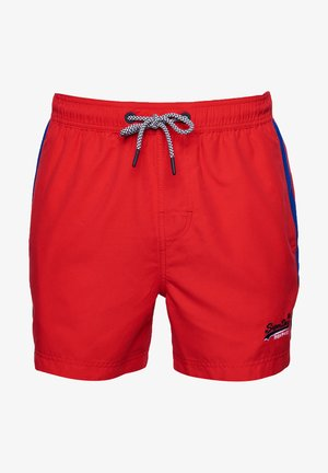 Badeshorts - flag red