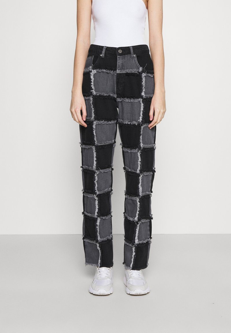 The Ragged Priest - MUSE CHARCOAL - Jeans straight leg - charcoal
