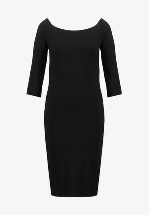 TANSY DRESS - Jerseykjole - black
