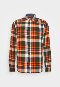 KnowledgeCotton Apparel - LARCH CHECKED - Shirt - forrest night - 0