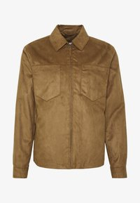 Topman - POCKET SUEDETTE - Giacca in similpelle - tan - 4