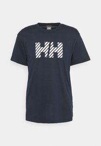 Helly Hansen - ACTIVE - Print T-shirt - navy - 5