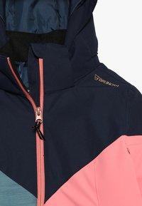 Brunotti - SHEERWATER GIRLS SNOWJACKET - Kurtka snowboardowa - desert pink - 5