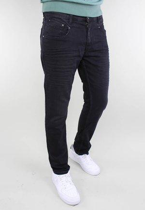 TREVISO - Straight leg jeans - black