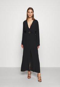 Patrizia Pepe - DRESS - Maxi dress - nero - 0