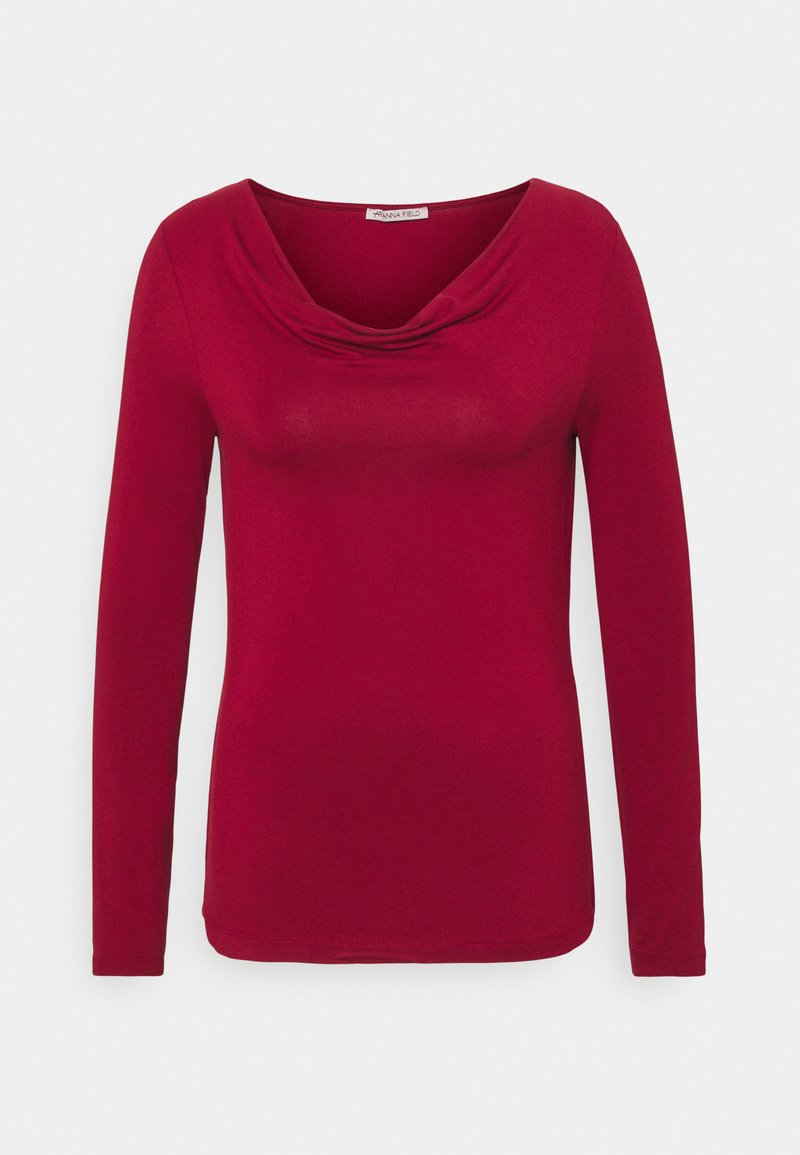 Anna Field - Long sleeved top - dark red