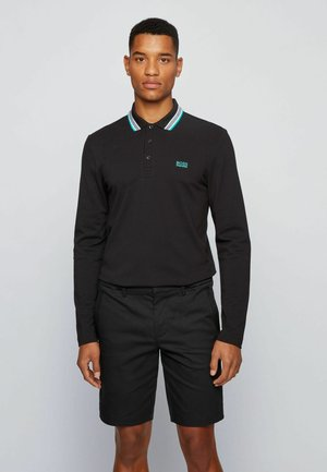 PLISY - Polo shirt - black