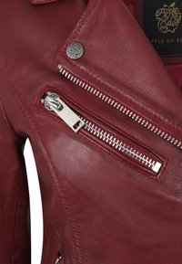 Apple of Eden - GHOST - Leather jacket - red - 3