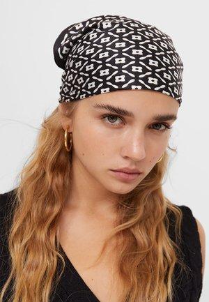 2ER-PACK IN - Headscarf - black/ white