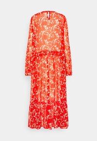 Love Copenhagen - BUGA DRESS - Maxi dress - tomato red/white - 1