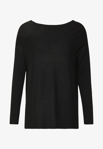 BASIC- RELAXED BOAT NECK JUMPER