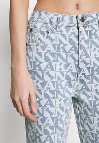 Karl Kani - Straight leg jeans - light blue - 4