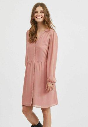 Shirt dress - old rose