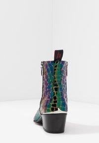 Jeffery West - SYLVAIN DOUBLE ZIP - Classic ankle boots - petol - 3