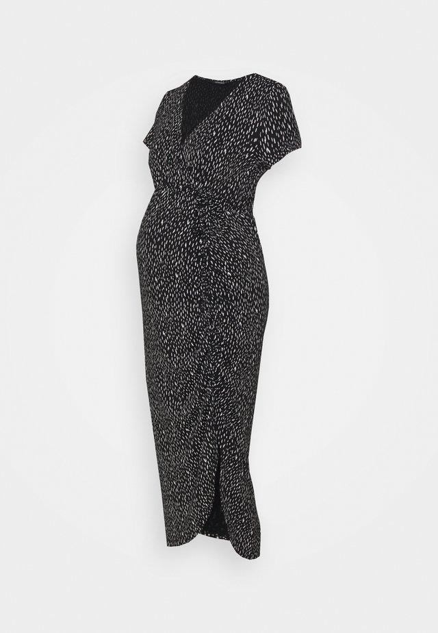 DRESS PEBBLES - Robe longue - black