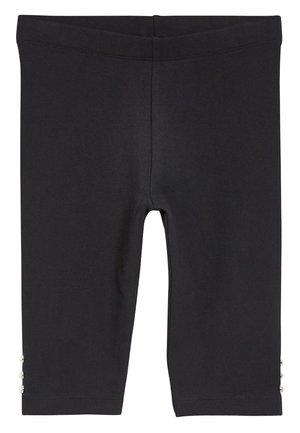 BLACK PEAR SLEEVE CROP LEGGINGS (3-16YRS) - Leggings - Trousers - black