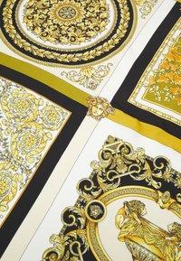 Versace - BAROCCO MOSAIC FOULARD UNISEX - Šátek - bianco/oro/kaki - 3