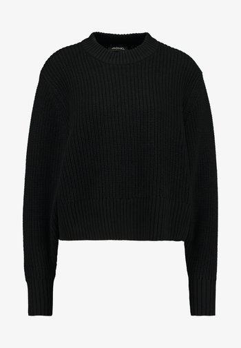 Pullover - black dark