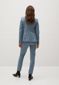 Mango - BOREAL - Trousers - bleu ciel - 2