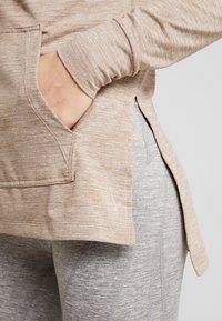 Nike Performance - YOGA COVERUP - Long sleeved top - desert dust/fossil stone - 5