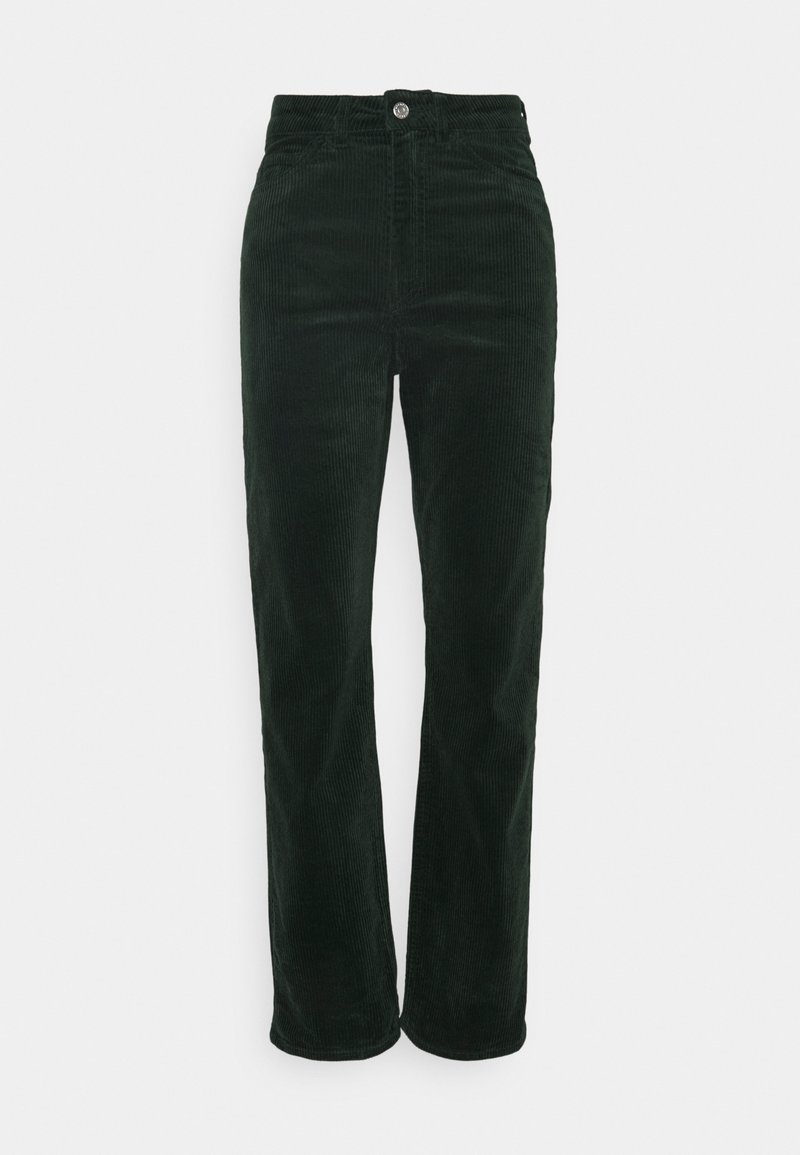 Weekday - ROWE TROUSER - Bukser - bottle green