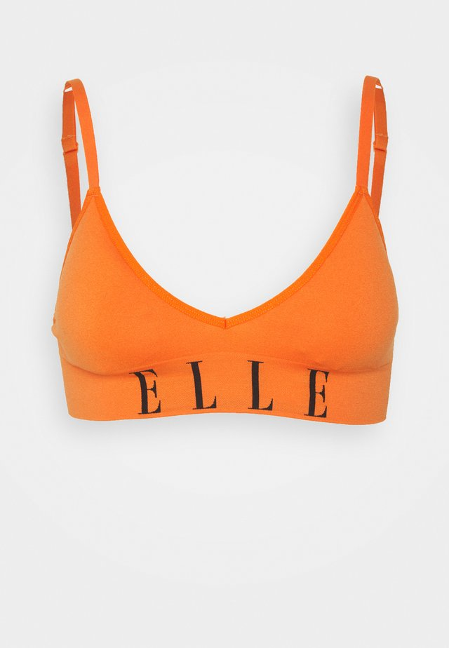 SEAMFREE BRALETTE - Triangel BH - orange