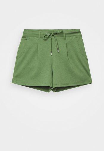 PONTE - Shorts - dull moss green
