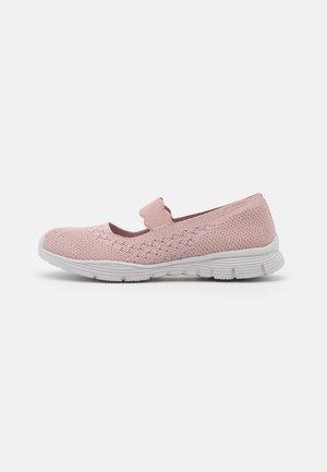SEAGER - Ankle strap ballet pumps - rose