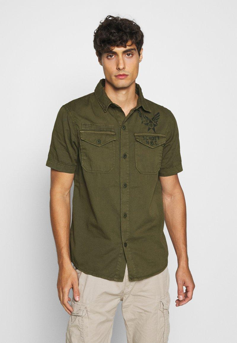 Schott - Shirt - khaki