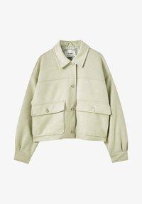 PULL&BEAR - Light jacket - light green - 5