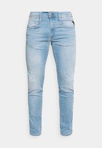 ANBASS HYPERFLEX REUSED X LITE - Slim fit jeans - light blue
