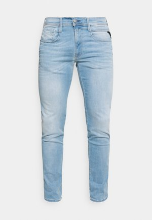 ANBASS HYPERFLEX REUSED X LITE - Slim fit jeans - light blue